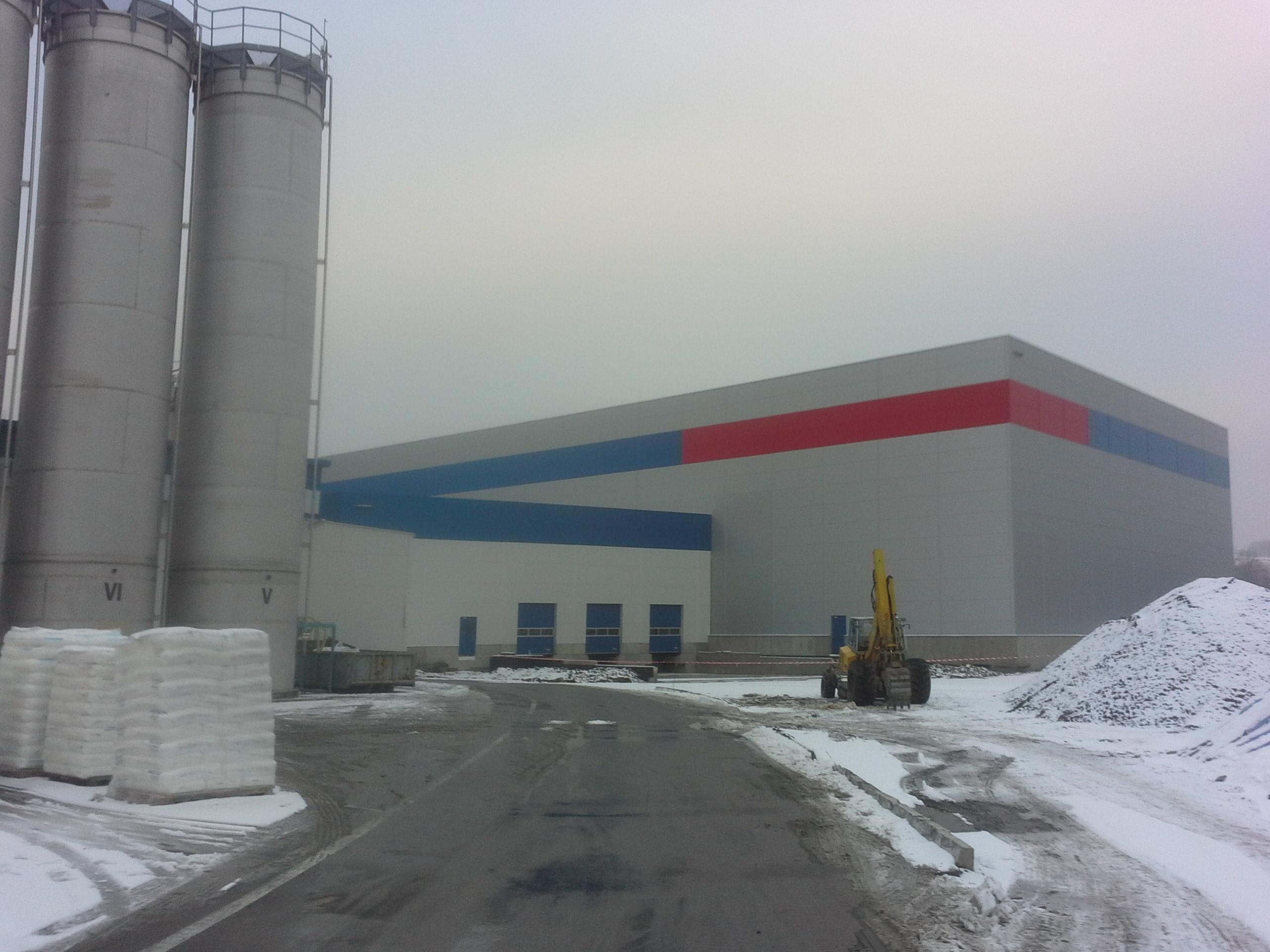 Nová hala firmy Greiner