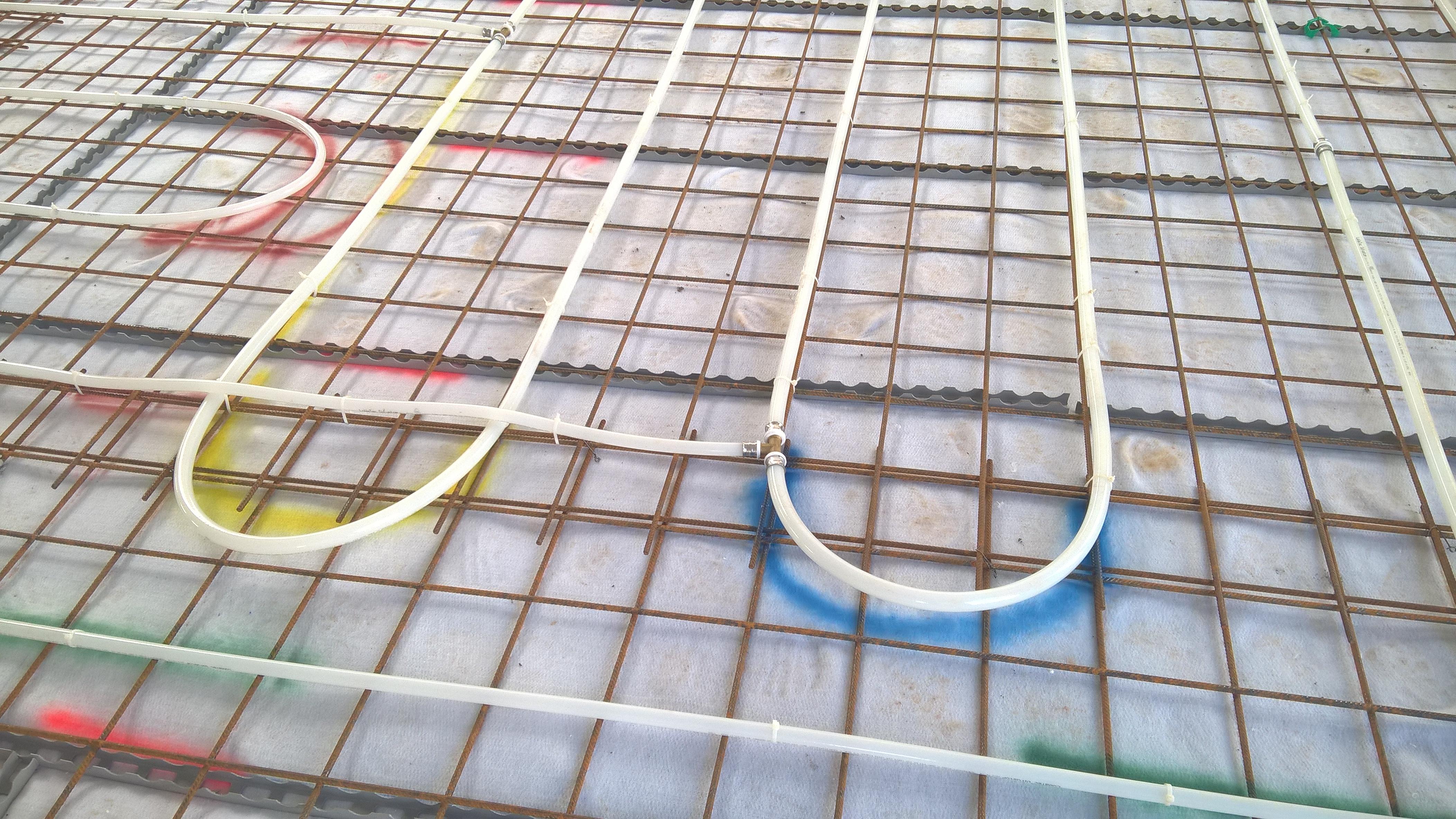 Vytápění výrobní haly v Novém Boru