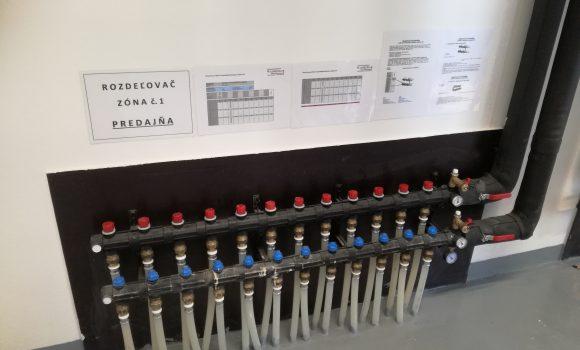 Vytápění a chlazení prodejny Lidlu (Dunajská Streda)
