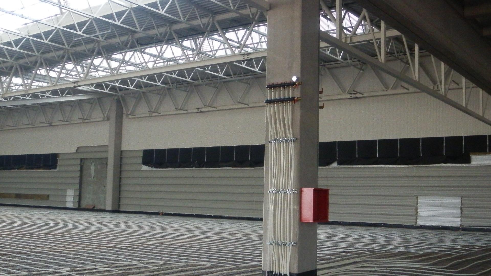 Průmyslová hala ve Vodňanech – Pöttinger