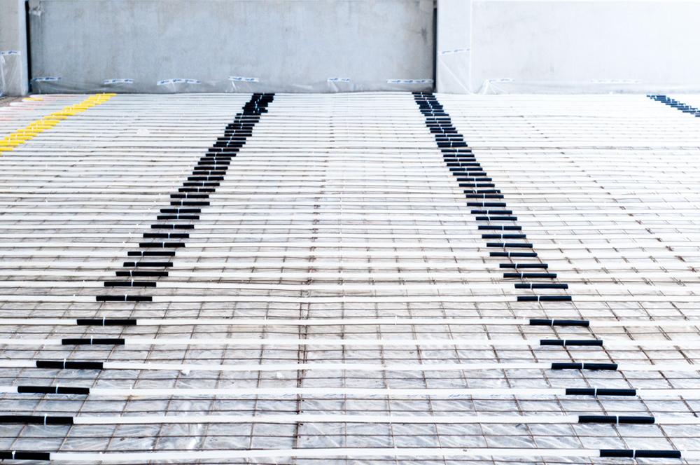 průmyslové podlahové topení